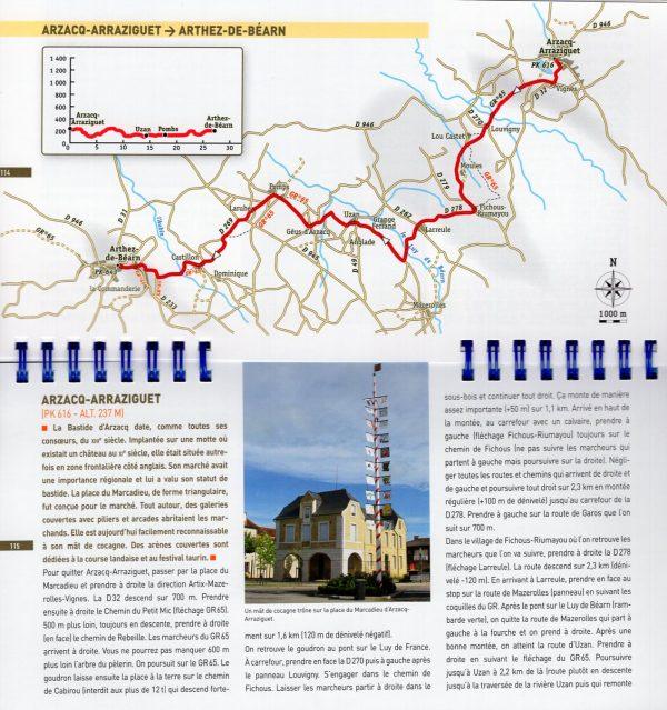 Compostelle à vélo: la voie du Puy aux Pyrénées 9782344019696  Rando Editions   Fietsgidsen, Meerdaagse fietsvakanties Frankrijk