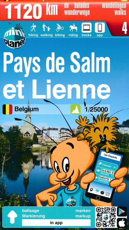 MA-04 Omgeving Vielsalm 1:25.000 9782390160038  Mini-Ardenne   Wandelkaarten Wallonië (Ardennen)