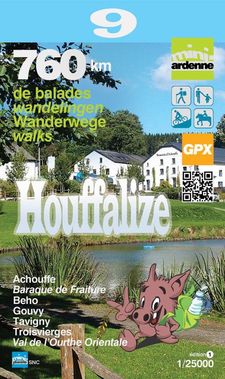 MA-09 Omgeving Houffalize 1:25.000 9782390160083  Mini-Ardenne   Wandelkaarten Wallonië (Ardennen)