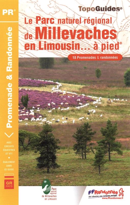 PN17 Parc Naturel des Millevaches en Limousin | wandelgids 9782751403170  FFRP Topoguides  Wandelgidsen Creuse, Corrèze