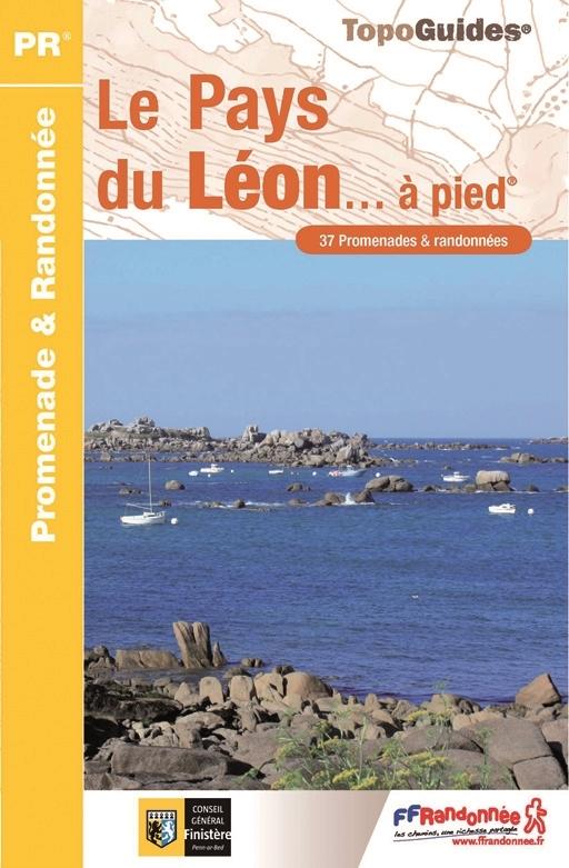 P296 Le Pays du Léon | wandelgids 9782751404788  FFRP Topoguides  Wandelgidsen Bretagne