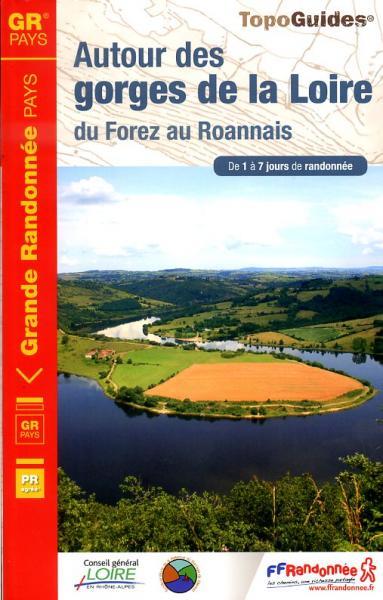 TG-420  Autour des gorges de la Loire | wandelgids 9782751406188  FFRP topoguides à grande randonnée  Meerdaagse wandelroutes, Wandelgidsen Auvergne
