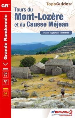 TG-631  Tours du Mont-Lozère | wandelgids Cevennen GR-6, GR-68 9782751406874  FFRP topoguides à grande randonnée  Meerdaagse wandelroutes, Wandelgidsen Cevennen, Languedoc