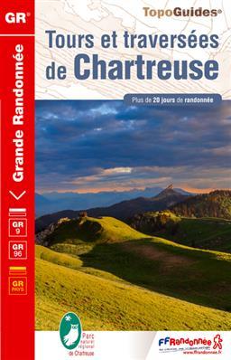 TG903 Tours et Traversées de Chartreuse 9782751407161  FFRP Topoguides  Meerdaagse wandelroutes, Wandelgidsen Franse Alpen: noord
