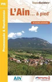D001  l'Ain... à pied | wandelgids 9782751408106  FFRP Topoguides  Wandelgidsen Lyon en omgeving