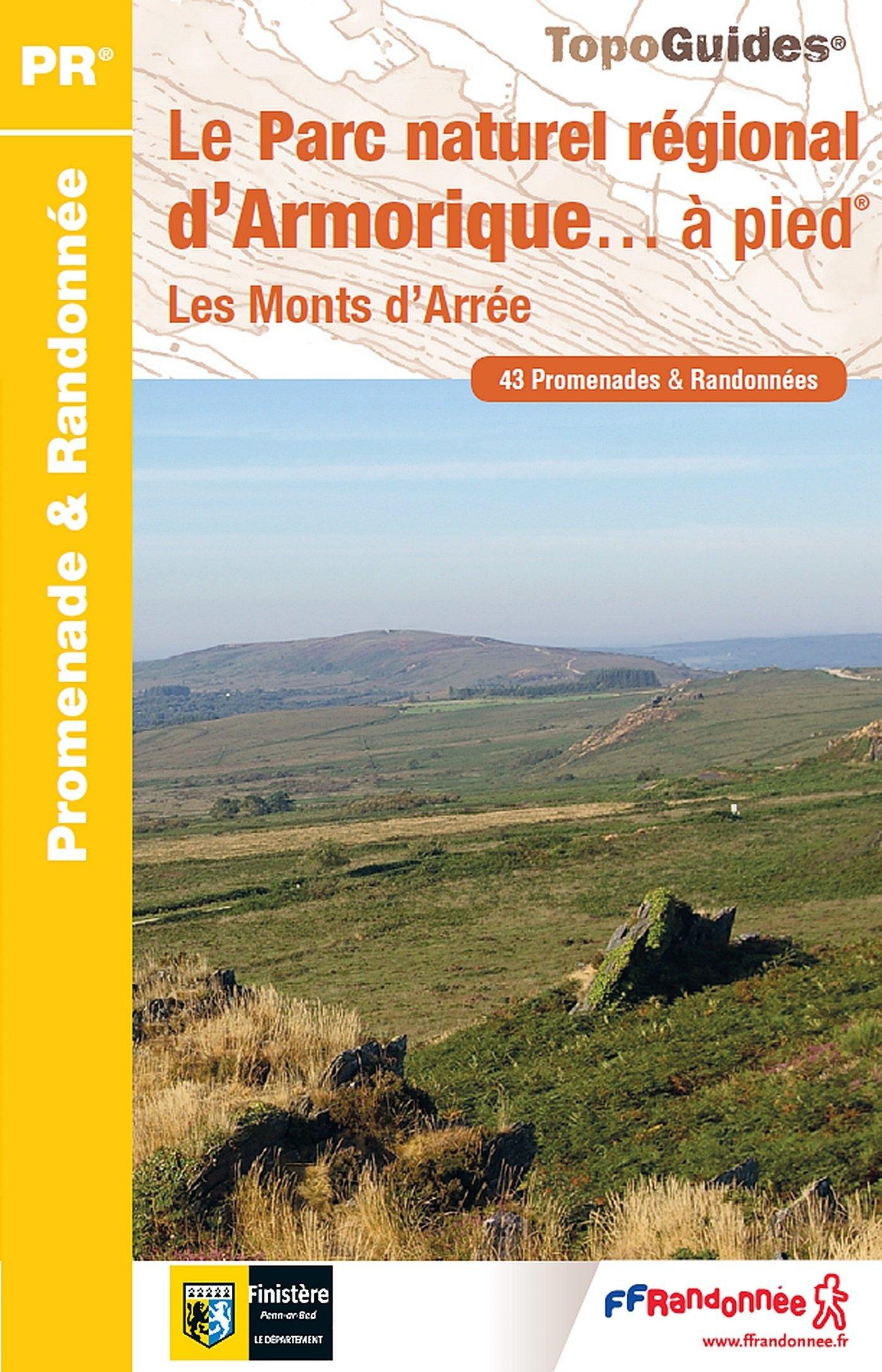 PN12 Le PNR d'Armorique | wandelgids 9782751408250  FFRP Topoguides  Wandelgidsen Bretagne