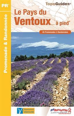 P841  Pays du Mont-Ventoux | wandelgids 9782751408458  FFRP Topoguides  Wandelgidsen Provence, Marseille, Camargue