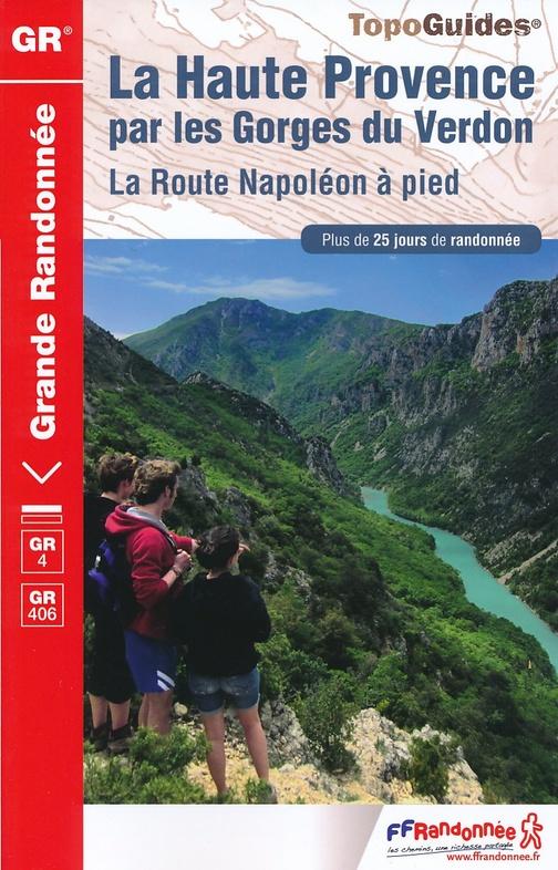TG401  Provence, Gorges du Verdon | wandelgids GR-4 9782751408519  FFRP Topoguides  Meerdaagse wandelroutes, Wandelgidsen Franse Alpen: zuid