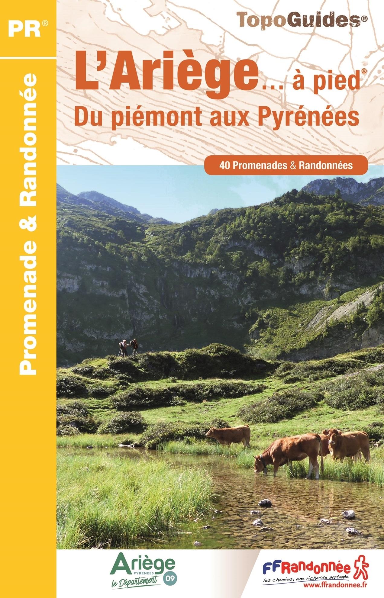D009   Ariège... à pied | wandelgids 9782751409127  FFRP Topoguides  Wandelgidsen Franse Pyreneeën