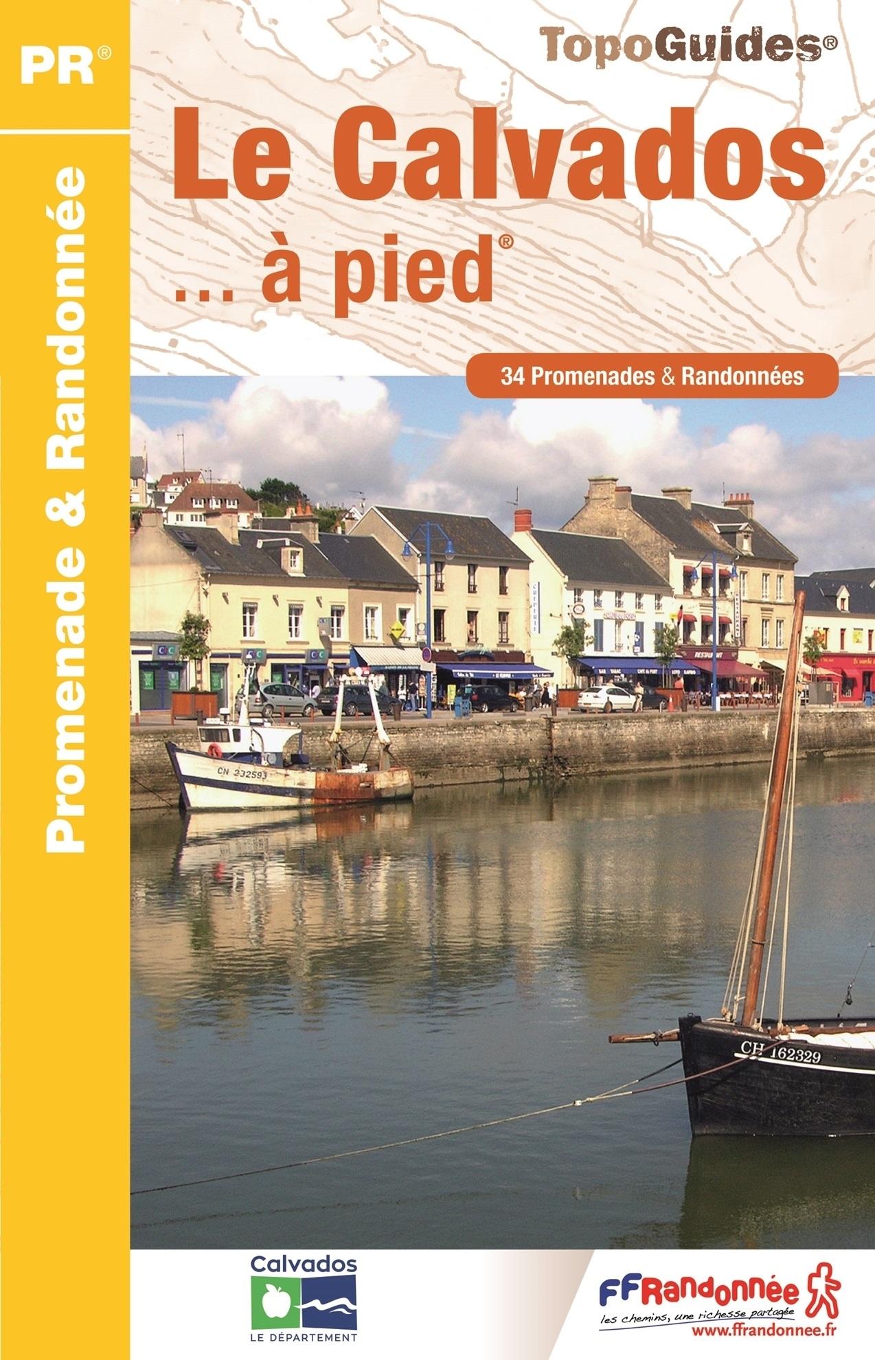 D014  A la découverte du Calvados... à pied | wandelgids 9782751409141  FFRP Topoguides  Wandelgidsen Normandië