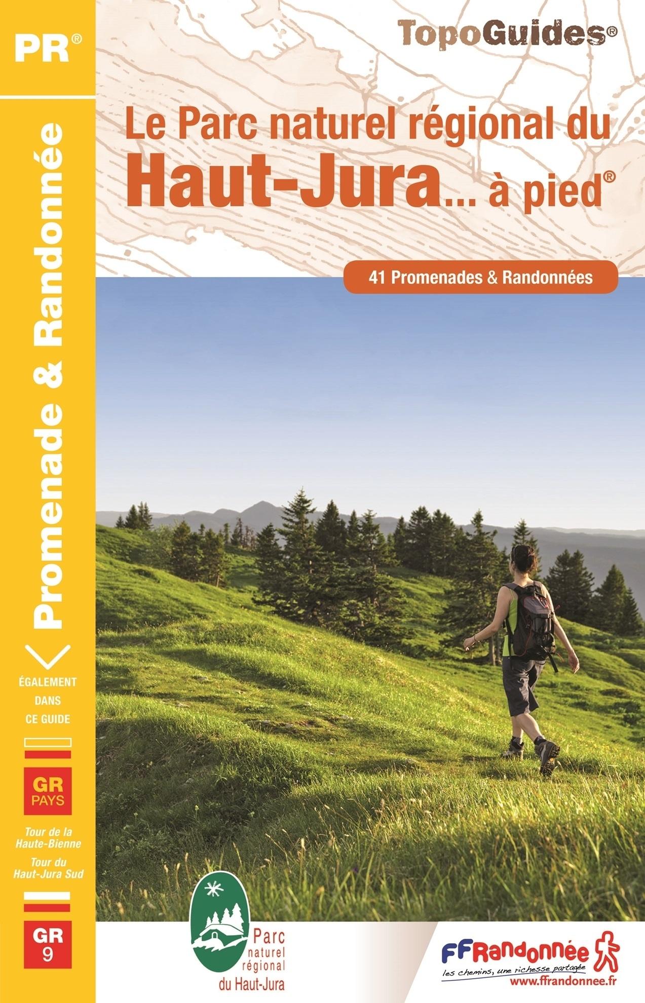 PN15 Haut-Jura... à pied;  | wandelgids GR9 9782751409363  FFRP Topoguides  Meerdaagse wandelroutes, Wandelgidsen Franse Jura