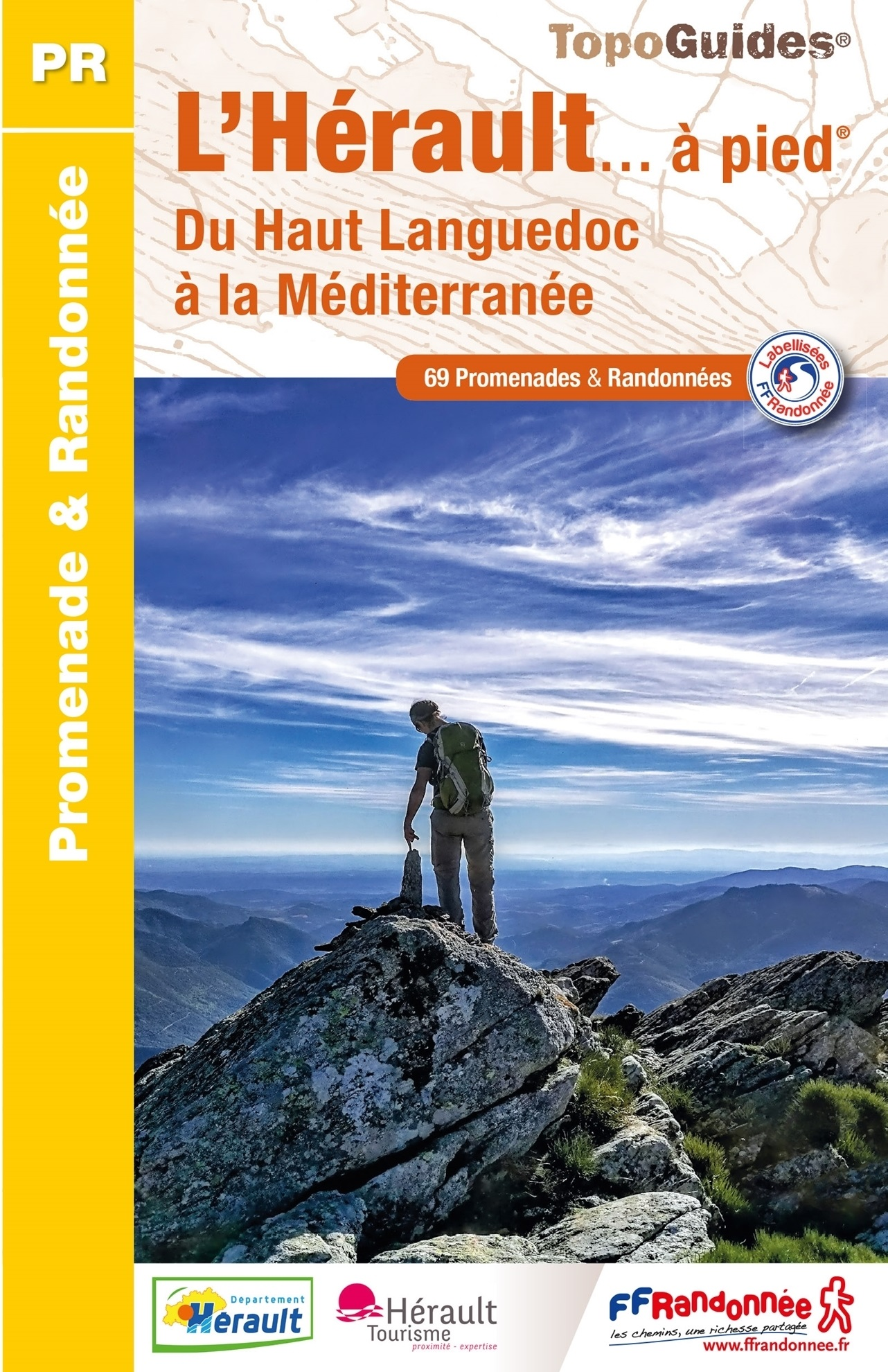 D034  L'Hérault... à pied | wandelgids 9782751409509  FFRP Topoguides  Wandelgidsen Cevennen, Languedoc