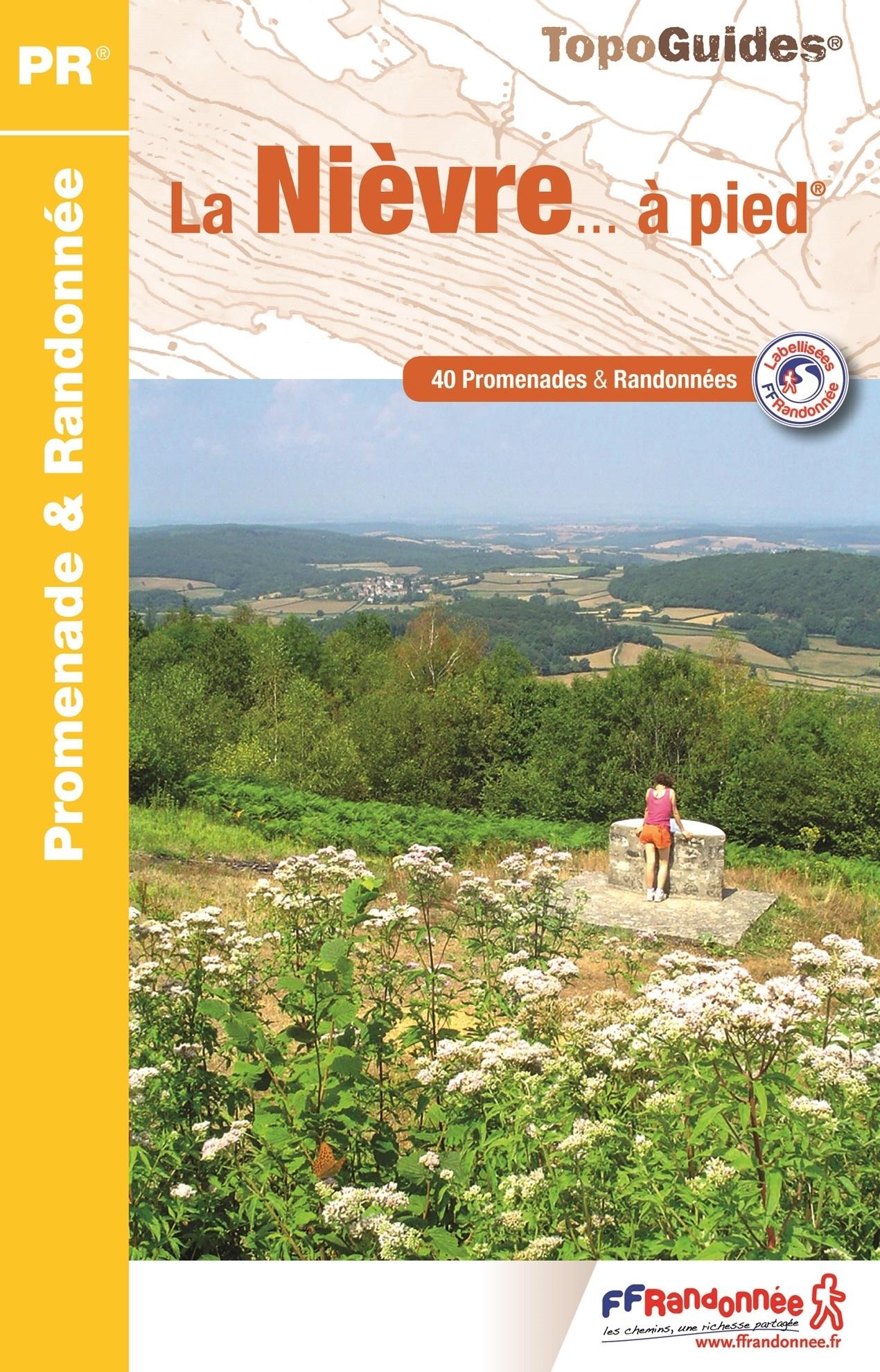 D058  La Nièvre... à pied | wandelgids 9782751409530  FFRP Topoguides  Wandelgidsen Bourgogne