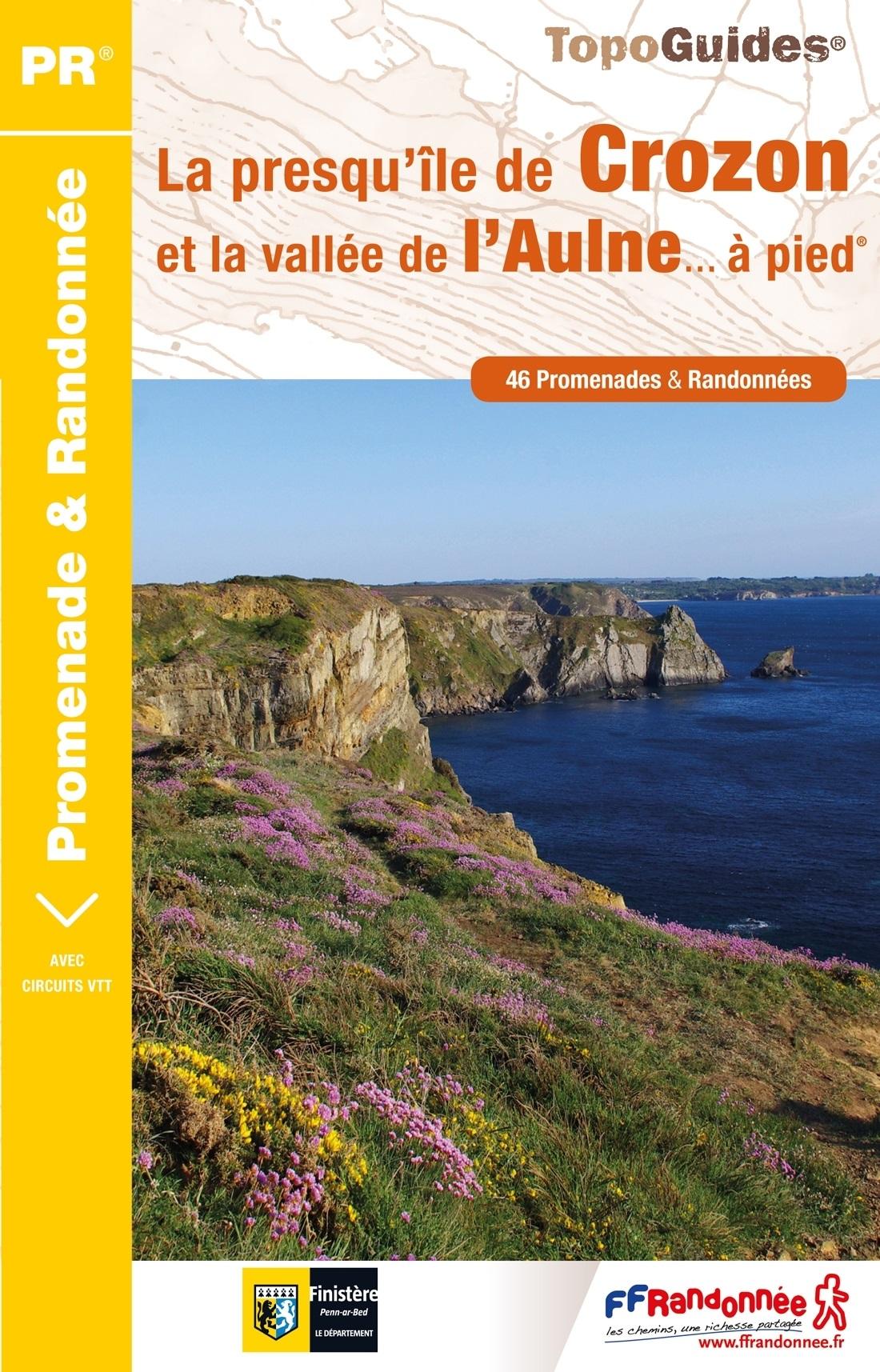 P293  La Presqu'île De Crozon | wandelgids 9782751409714  FFRP Topoguides  Wandelgidsen Bretagne