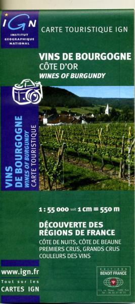 Vins de Bourgogne 9782758501831  IGN   Culinaire reisgidsen, Wijnreisgidsen Bourgogne