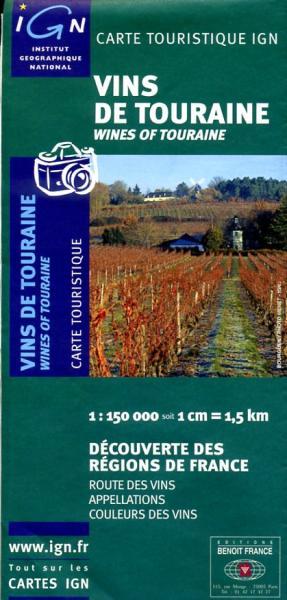Vins de Touraine 9782758501862  IGN   Culinaire reisgidsen, Wijnreisgidsen Loire & Centre