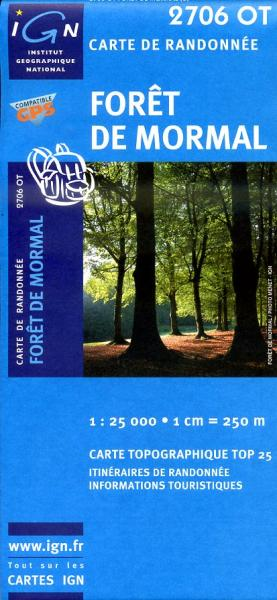 2706OT  Parc de l'Avesnois, Aulnoye | wandelkaart 1:25.000 9782758503255  IGN IGN 25 Picardië & Nord  Wandelkaarten Picardie, Nord