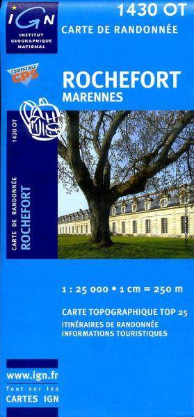 1430OT   Rochefort, Marennes | wandelkaart 1:25.000 9782758510031  IGN TOP 25  Wandelkaarten Vendée, Charente