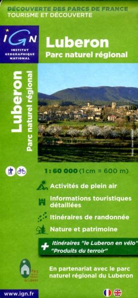 Luberon 1:60.000 (Parc naturel régional) 9782758525110  IGN IGN Spéciales  Wandelkaarten Provence, Marseille, Camargue