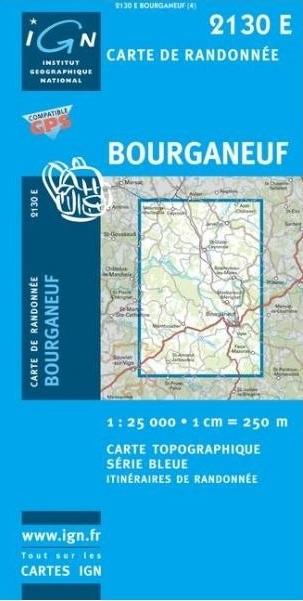 2130Est   Bourganeuf 9782758525387  IGN IGN 25 Creuse & Corrèze  Wandelkaarten Creuse, Corrèze