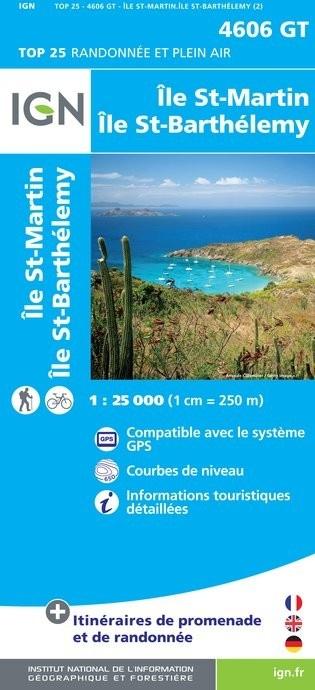 4606GT  St-Martin, Sint-Maarten | wandelkaart 1:25.000 9782758533467  IGN IGN 25  Landkaarten en wegenkaarten, Wandelkaarten Aruba, Bonaire, Curaçao