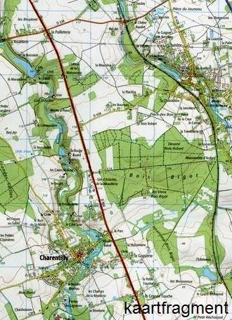 wandelkaart 1822-SB Tours, Langeais 1:25.000 9782758533948  IGN IGN 25 Loire & Centre  Wandelkaarten Loire & Centre