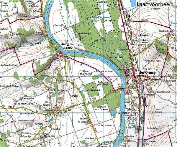 wandelkaart 1922-SB Amboise, Montlouis-sur-Loire 1:25.000 9782758534037  IGN IGN 25 Loire & Centre  Wandelkaarten Loire & Centre