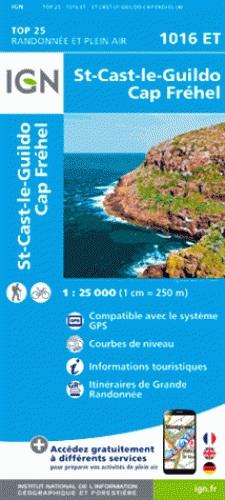1016ET St-Cast-le-Guildo, Cap Fréhel | wandelkaart 1:25.000 9782758534952  IGN IGN 25 Bretagne  Wandelkaarten Bretagne