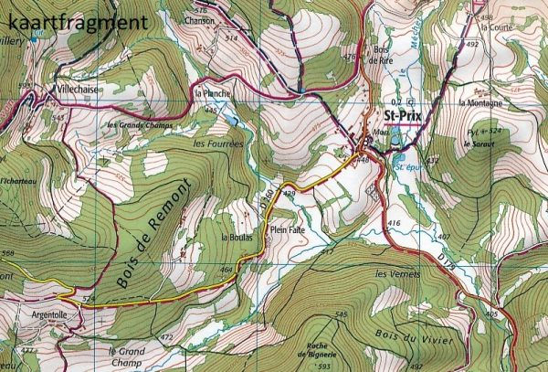 2824OT  Autun, Mont Beuvray | wandelkaart 1:25.000 9782758536130  IGN IGN 25 Bourgogne & Morvan  Wandelkaarten Morvan