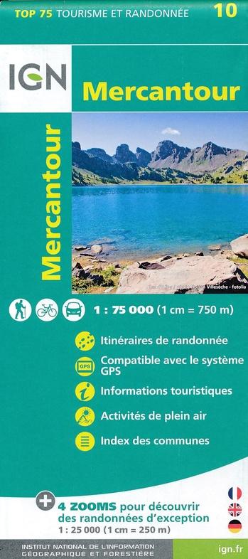 Mercantour | IGN overzichts- en wandelkaart 9782758538547  IGN TOP 75  Landkaarten en wegenkaarten, Wandelkaarten Franse Alpen: zuid