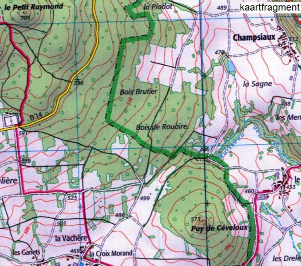 wandelkaart 2632-SB Issoire, Cunlhat 1:25.000 9782758539612  IGN IGN 25 Auvergne  Wandelkaarten Auvergne