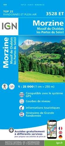 3528ET Massif du Chablais, Avoriaz | wandelkaart 1:25.000 9782758540052  IGN IGN 25 Franse Alpen/ Nrd.helft  Wandelkaarten Franse Alpen: noord