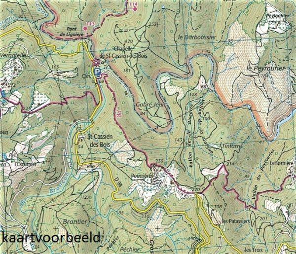 3543ET   Haute Siagne, Grasse   wandelkaart 1:25.000 9782758540380  IGN IGN 25 Franse Alpen/ zuidhelft  Wandelkaarten Franse Alpen: zuid