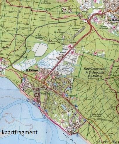 1332ET  Royan, Forêt de la Coubre | wandelkaart 1:25.000 9782758545224  IGN IGN 25 Charente, Vendée  Wandelkaarten Vendée, Charente