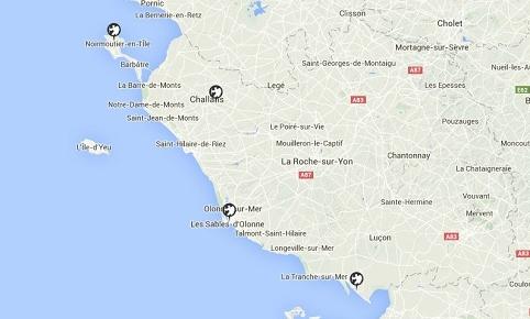 Vendée littorale 9782844663252  Chamina Guides de randonnées  Wandelgidsen Vendée, Charente