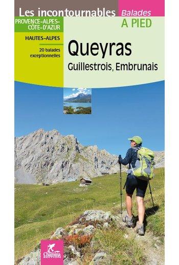 CHA-830  Queyras Guillestrois - Embrunais 9782844663344  Chamina Guides de randonnées  Wandelgidsen Franse Alpen: zuid