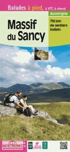 Massif du Sancy 1:30.000 9782844663719  Chamina Guides de randonnées  Wandelkaarten Auvergne