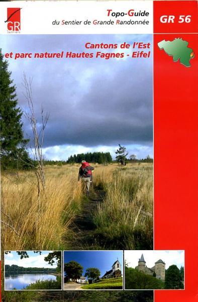 GR-56  Cantons de l'Est (GR56 Oostkantons) | wandelgids 9782930488172  Grote Routepaden Topoguides  Meerdaagse wandelroutes, Wandelgidsen Wallonië (Ardennen)