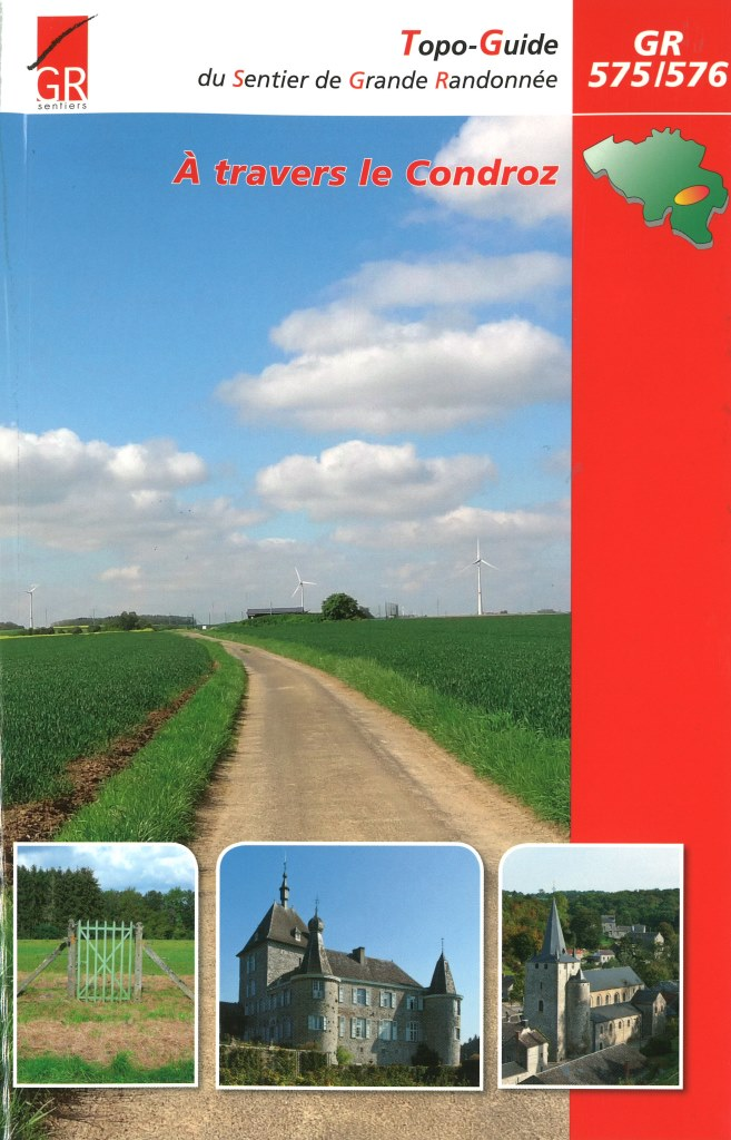 GR-575/576 À travers le Condroz | wandelgids 9782930488226  Grote Routepaden Topoguides  Meerdaagse wandelroutes, Wandelgidsen Wallonië (Ardennen)