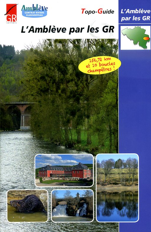 l'Amblève par les GR | wandelgids 9782930488233  Grote Routepaden Topoguides  Meerdaagse wandelroutes, Wandelgidsen Wallonië (Ardennen)