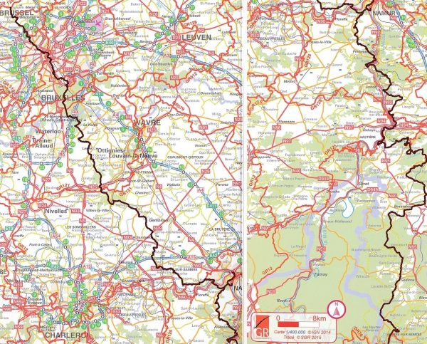 GR-126 Brussegem - Membre-sur-Semois (F) | wandelgids 9782930488301  Grote Routepaden Topoguides  Meerdaagse wandelroutes, Wandelgidsen Wallonië (Ardennen)