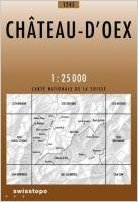 CH-1245  Chateau-d'Oex [2006] topografische wandelkaart 9783302012452  Bundesamt / Swisstopo LKS 1:25.000  Wandelkaarten Berner Oberland, Basel, Jura, Genève