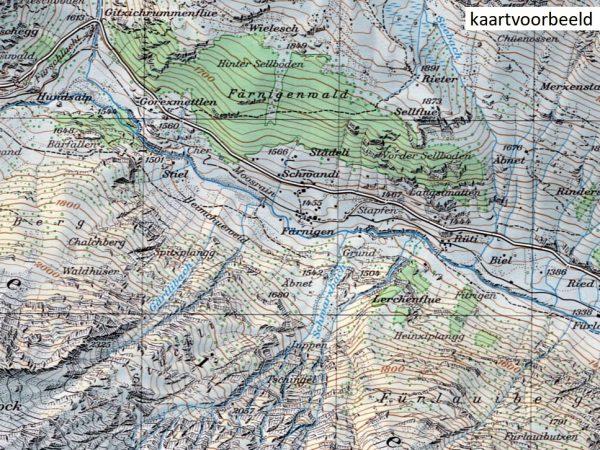 CH-1308  St.Niklaus [2019] topografische wandelkaart 9783302013084  Bundesamt / Swisstopo LKS 1:25.000  Wandelkaarten Wallis