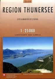 CH-2519  Thunersee [2009] topografische wandelkaart (Zusammensetzung) 9783302025193  Bundesamt / Swisstopo LKS 1:25.000 Berner Oberland  Wandelkaarten Berner Oberland