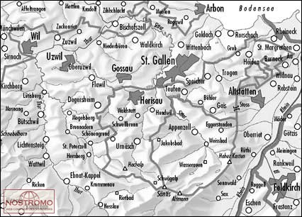CH5014  St.Gallen - Appenzell [2001] 9783302050140  Bundesamt / Swisstopo Zusammensetzung 50T  Wandelkaarten Noordoost- en Centraal Zwitserland