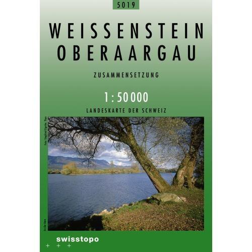 CH5019  Weissenstein - Oberaargau [2009] 9783302050195  Bundesamt / Swisstopo Zusammensetzung 50T  Wandelkaarten Basel, Zürich, Noord-Zwitserland, Jura, Genève, Vaud