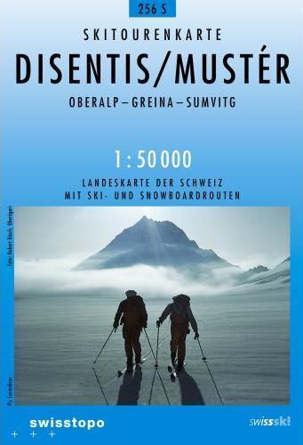S256  Disentis [2007] 9783302202563  Bundesamt / Swisstopo Skirouten 1:50.000  Wintersport Graubünden, Tessin