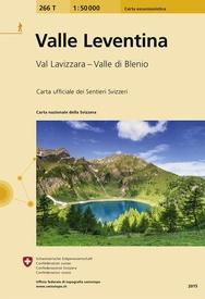 266T Valle Leventina, Valle di Blenio [2015] 9783302302669  Bundesamt / Swisstopo SAW 1:50.000  Wandelkaarten Graubünden, Tessin