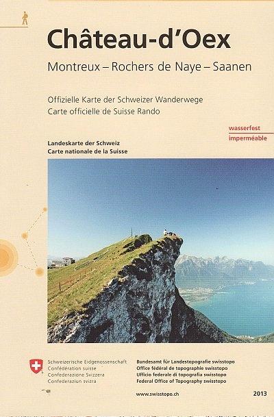 3302T Château-d'Oex 9783302333021  Bundesamt / Swisstopo Wanderkarten 1:33.333  Wandelkaarten Berner Oberland, Basel, Jura, Genève