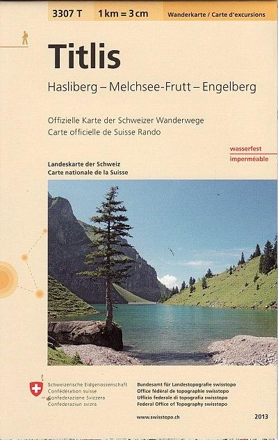 3307T Titlis | wandelkaart 1:33.333 9783302333076  Bundesamt / Swisstopo Wanderkarten 1:33.333  Wandelkaarten Midden- en Oost-Zwitserland
